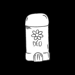Icône tube de déodorant